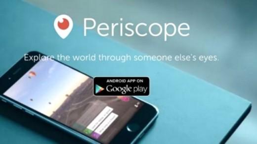 Periscope artık Android'de