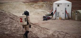 Çölde Mars simülasyonu!