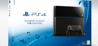 İşte PlayStation 4'ün 1 TB sabit diskli modeli