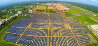Güneş enerjisiyle çalışan ilk havalimanı!