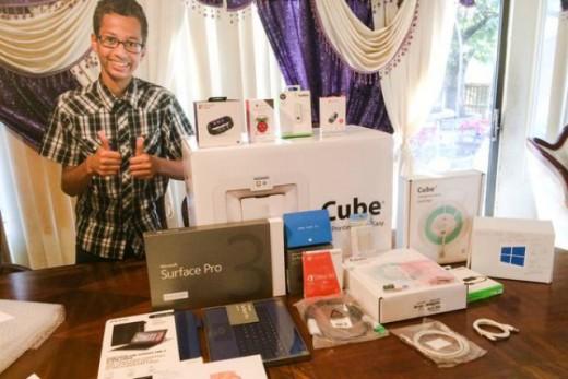 Ahmed-Mohamed-Microsoft