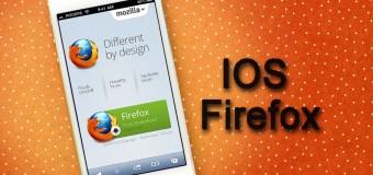 Apple cihazlarda Firefox zamanı!