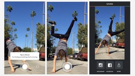 Instagram video uygulaması: Boomerang