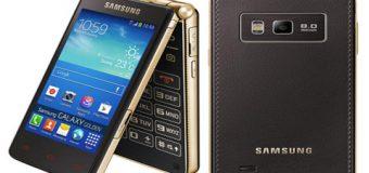 İşte Samsung'un kapaklı akıllı telefonu