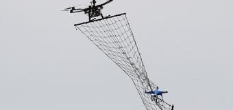 Drone'ları drone ile yakalıyolar!
