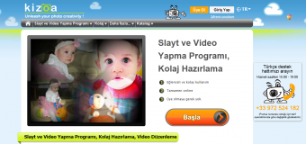 Fotoğraflarla Kolay Video Hazırlama Programı: Kizoa