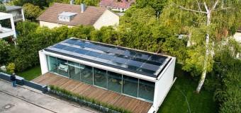 Yüzde yüz doğal enerjili ev 'B10'