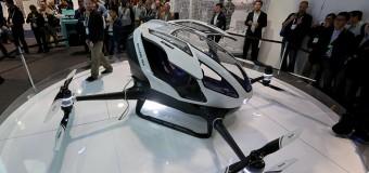 Yolcu taşıyabilen ilk drone'u Çin'in yapması ABD'yi panikletti