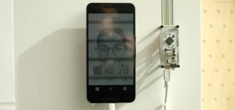 Google'dan çizim yapan robot