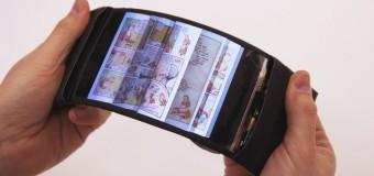 Dünyanın ilk esneyebilen akıllı telefonu: ReFlex!