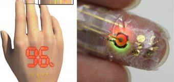 Vücuttaki oksijen seviyesini ölçen elektronik deri üretildi