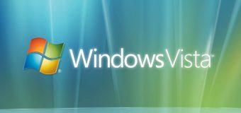 Windows Vista tamamen bitiyor