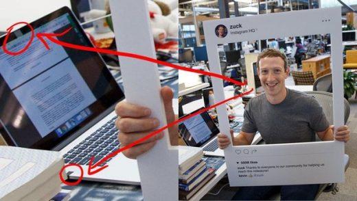 Zuckerberg laptopun kamerasını bantla kapattı!