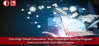 ODTÜ Online Eğitim Programında Yeni Dönem başlıyor