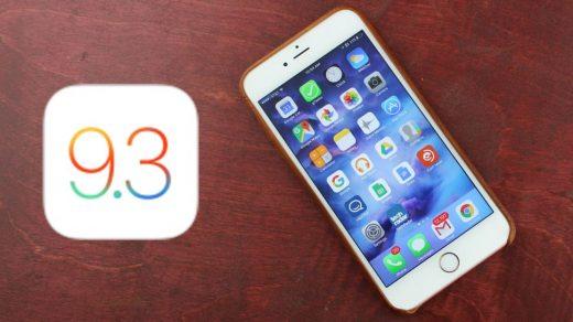Apple iOS 9.3.3 ü yayınladı