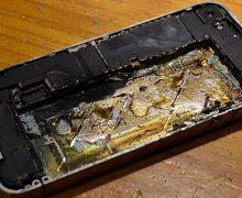 iPhone 6 Plus Şarj Edildiği Sırada Patladı!