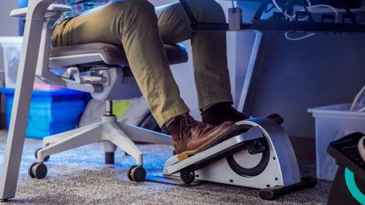 Ofiste otururken spor yapmaya ne dersiniz?